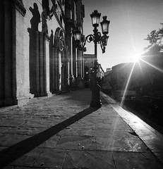 B&W Sulmona's Shadows (Historicus) Tags: light blackandwhite bw italy church backlight geotagged italia shadows kodak tmax hasselblad chiesa neopan footpath controluce abruzzo acros swc sulmona bellaitalia gitzotripod ovidio annunziata hasselbladswc duetos geo:tool=wikiworldflicksorg geo:lat=420343 geo:lon=139351 zeissbiogon38mm linhofprofiballheadiiiq