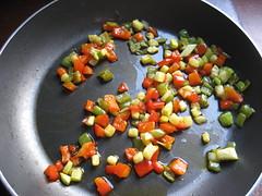 Verduras a fuego lento