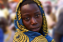 Market girl (LindsayStark) Tags: africa travel portrait people girl war rwanda humanrights genocide humanitarian humanitarianaid postconflict waraffected conflictaffected
