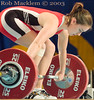 RUE Danica USA (Rob Macklem) Tags: world usa 2006 strength danica olympic weightlifting championships rue domingo santo