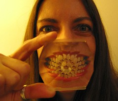Day #010 - Mouthfull of Teeth (sosij) Tags: 15fav selfportrait teeth 365 day10 cokinfilter sosij nightmareonthe350dtolineupmymouth g2withswivelscreenmucheasier 100metresofflosshasbeenordered dentistsnightmareordentistsparadise iknowthisisnthowyouusecokinfilters