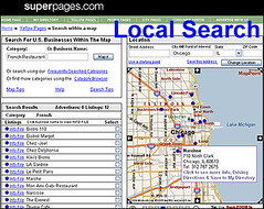 Local Search at Superpages.com