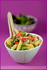Fennel, Green Pea and Lobster Penne (La tartine gourmande) Tags: food pasta lobster peas fennel savory tarragon penne risotto