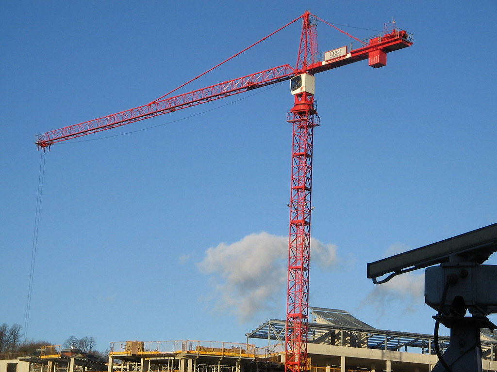 A three tired Crane.