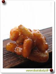 Pignons de pin caramélisé