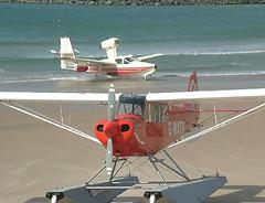 G-WATR & G-BOLL (Canon John's 7D (Wow! 3,000,000+ views, Thanks)) Tags: airshow portrush gwatr