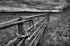 The gate (Andy Allum) Tags: bw photoshop canonefs1022mmf3545usm canon1022mm canoneos400d