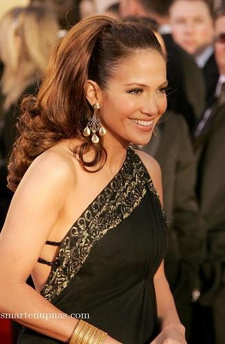 Jennifer Lopez llega a los globos de oro