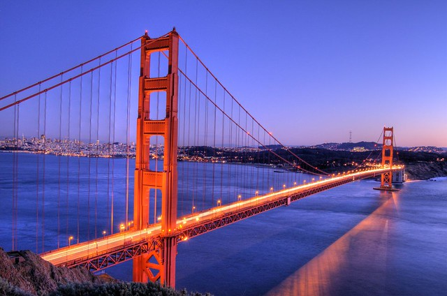 Golden Gate Bridge - HDR