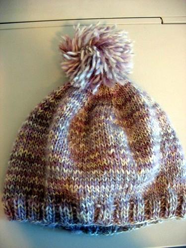 M's hat