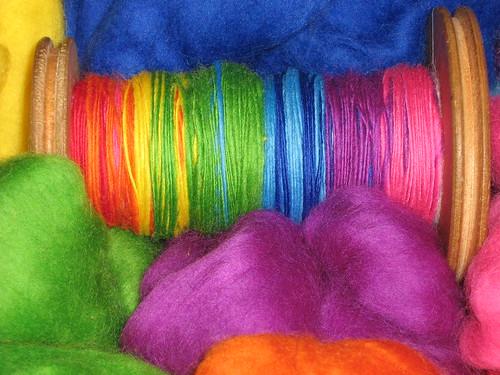 spun rainbow