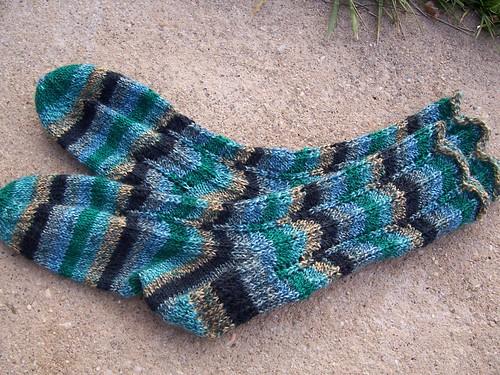 ripple socks fini!