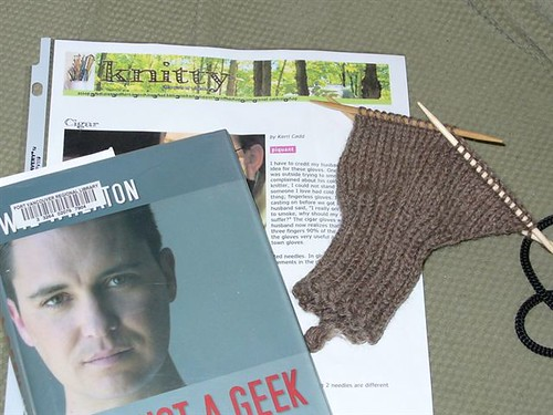 Knitting with a Geek