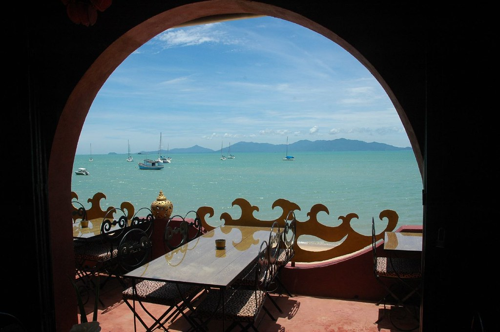View to Ko Pha Ngan from Starfish Coffee