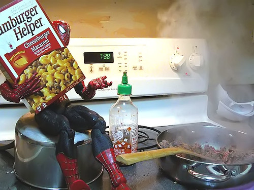 my dinner with spidey