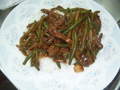 thit bo sau  with rice (KimmyFP) Tags: vietnamese rice beef stirfry