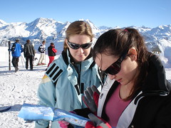 Gemma and Susan (RandolphScott) Tags: valthorens meribel lesmenuires corchevel