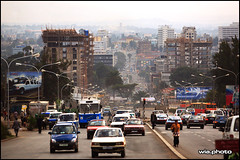Addis Abeba.jpg (ultraberlin) Tags: world life africa road street travel brown house building car skyline photography photo foto fotografie traffic strasse documentary downhill journey afrika ethiopia dust asphalt avenue reise wia photodesign thiopien oliwia owia fotodesign addisabeba adisababa oliverwia wia04 ultraberlin adisabeba