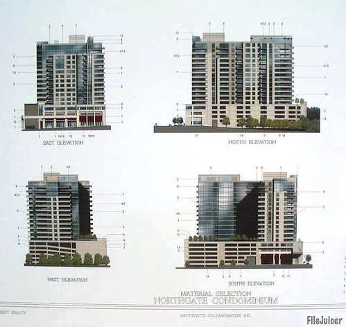 Defunct Northgate Condominium Elevations