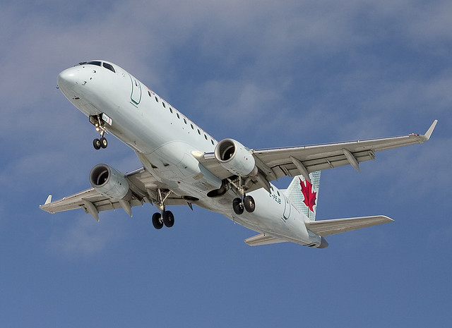 Air Canada Embraer 175 C-FEJB at YYZ by KlickThiscom