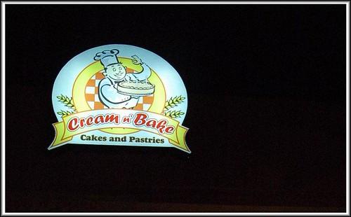 cream and bake