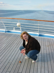 On the Poop Deck