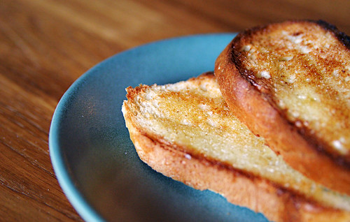Toasted French Bread Rounds