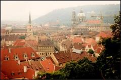 Prague 1987: Mal Strana after rain (Simon_K) Tags: prague atheism praha communist communism czechrepublic kafka franzkafka marxism czechoslovakia ironcurtain hrabal milankundera jaroslavhasek meyrink leninism dubcek warsawpact josefskvorecky ivanklima scientificatheism