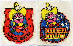 Marshal Mallow stickers