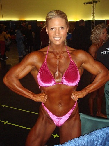 Jody May Weighs In At 2007 Arnold Classic