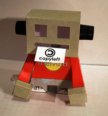 PP + MELVIND, COPYLEFT (100% LOADING + PP Republic) Tags: design figure pp charactor urbantoy papertoy melvind 100loading pprepublic