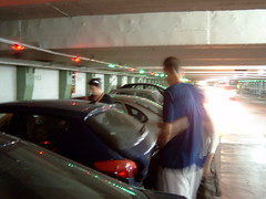 barcelona parking with free place indicator !!! great (Zakwil) Tags: barcelona parking 206