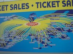 Ryanair map