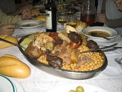Cocido Maragato (¿o Madrileño?) en El Boñar de Leon (Noviciado)