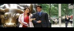 Cute couple (Indari) Tags: new york cinema laughing couple walk bull bollywood khan ho shahrukh preity zinta hindi kal srk naa