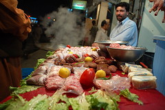 You want? (Gunnar Geir Ptursson) Tags: pakistan food meat testicles lahore kidneys testies