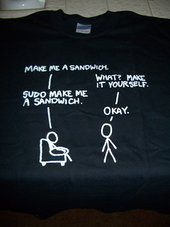 sudo make me a sandwich