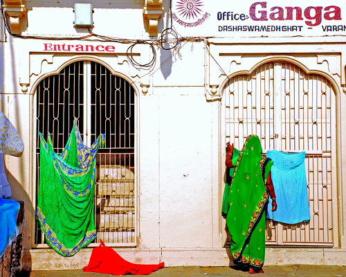 Ganga has an Office.