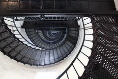 Spiraling Up (Robby Edwards) Tags: vacation lighthouse stairs northcarolina outerbanks capehatteras nationalseashore bodieislandlighthouse bodieisland capehatterasnationalseashore shieldofexcellence