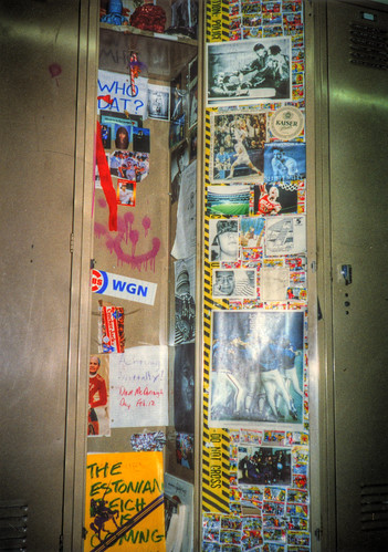 My high school locker