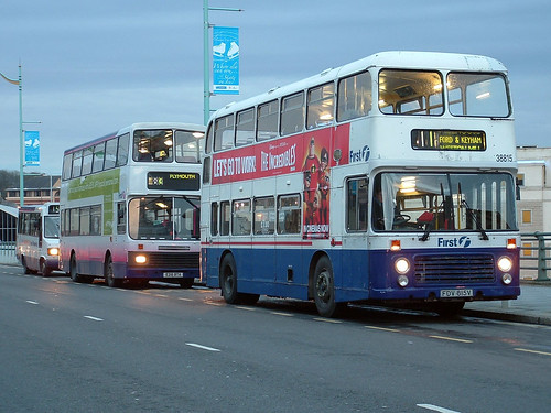 38815 FDV815V First Devon and Cornwall
