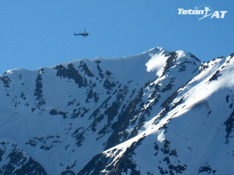 UDOT doing avy control on Mt Superior