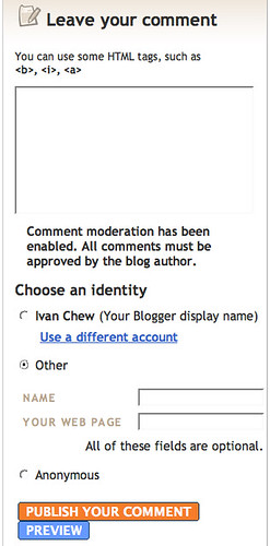 screenshot_blogger comment box