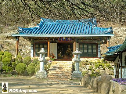 Buddhist Hermitage on Dobong Mountain.