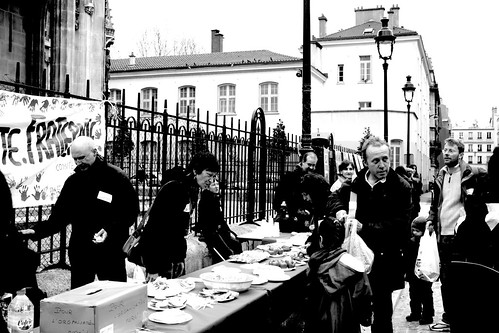 Solidarité pour les sans-papiers