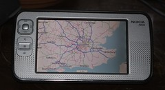 Nokia N800 with OpenStreetMap