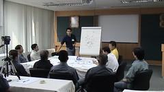 4 บรรยากาศการประชุมกลุ่ม CFT เพื่อฝึกเล่าเรื่อง ลปรร. และเก็บขุมความรู้  ทำกันอย่าง มืออาชีพ