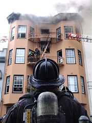 Page Street Fire, SF (DNSF David Newman) Tags: sanfrancisco fire sffd hayesvalley dnsf firefighter firedepartment firefighters pagestreet sanfranciscofiredepartment sffire