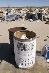 Food Drive (Lost America) Tags: rot desert decay mojave foodbank fooddrive stench rottenfood helendale anawesomeshot