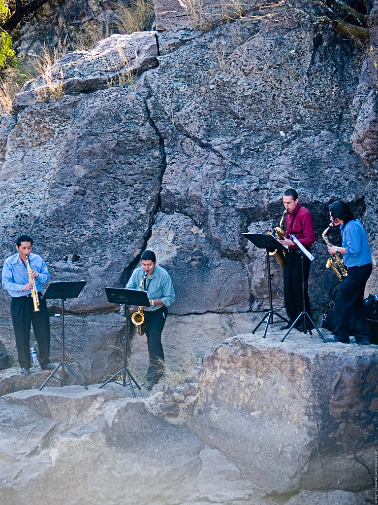 Quartet in the canyon